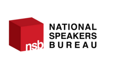 national speakers bureau logo
