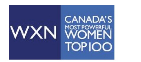 WXN Canada's most powerful women top 100 logo