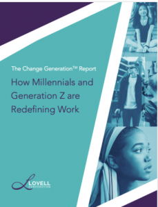 The Change Generation Report cover page